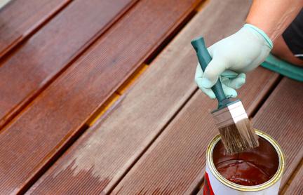Pflegeschutz für Holzterassen