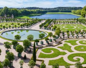 Kunstgalerie Garten Versailles