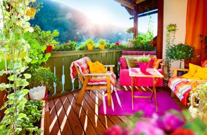 Vom Balkon-sichtschutz Zum Deko-element Terrassen Sichtschutz Deko Varianten