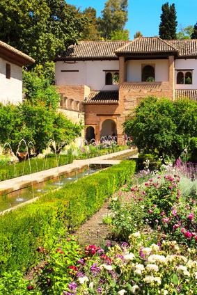 Orientalische Gärten