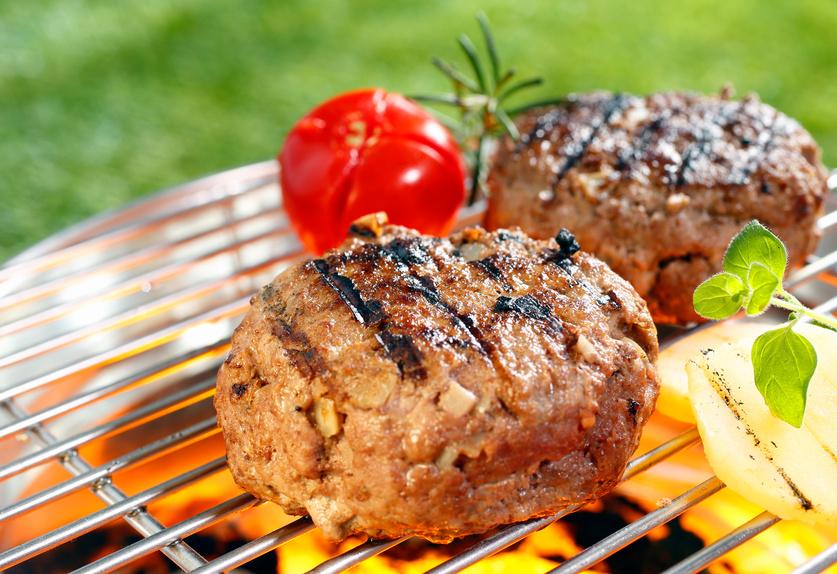 Sirloinsteak-Hamburger
