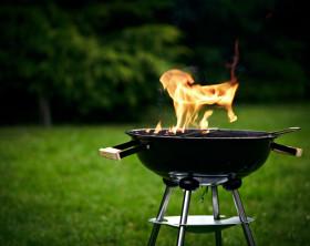 Feuer und Flamme für Grill