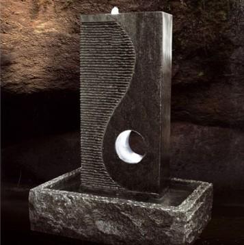 Brunnen Aus Granit Mit LED Beleuchtung