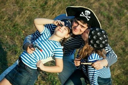 Piratenfamilie
