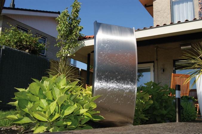 Brunnen f r terrasse und balkon formen montage pflege - Brunnen modern ...