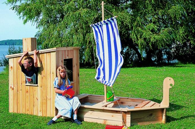 Top Ein Kindheitstraum: Bauen Sie einen eigenen Spielplatz PU45