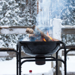 Grillen im Winter
