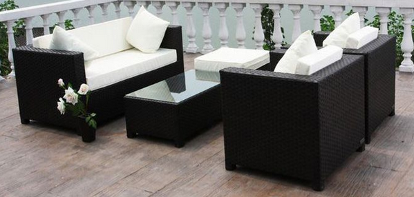 polyrattan lounges gartenmoebel de. Black Bedroom Furniture Sets. Home Design Ideas