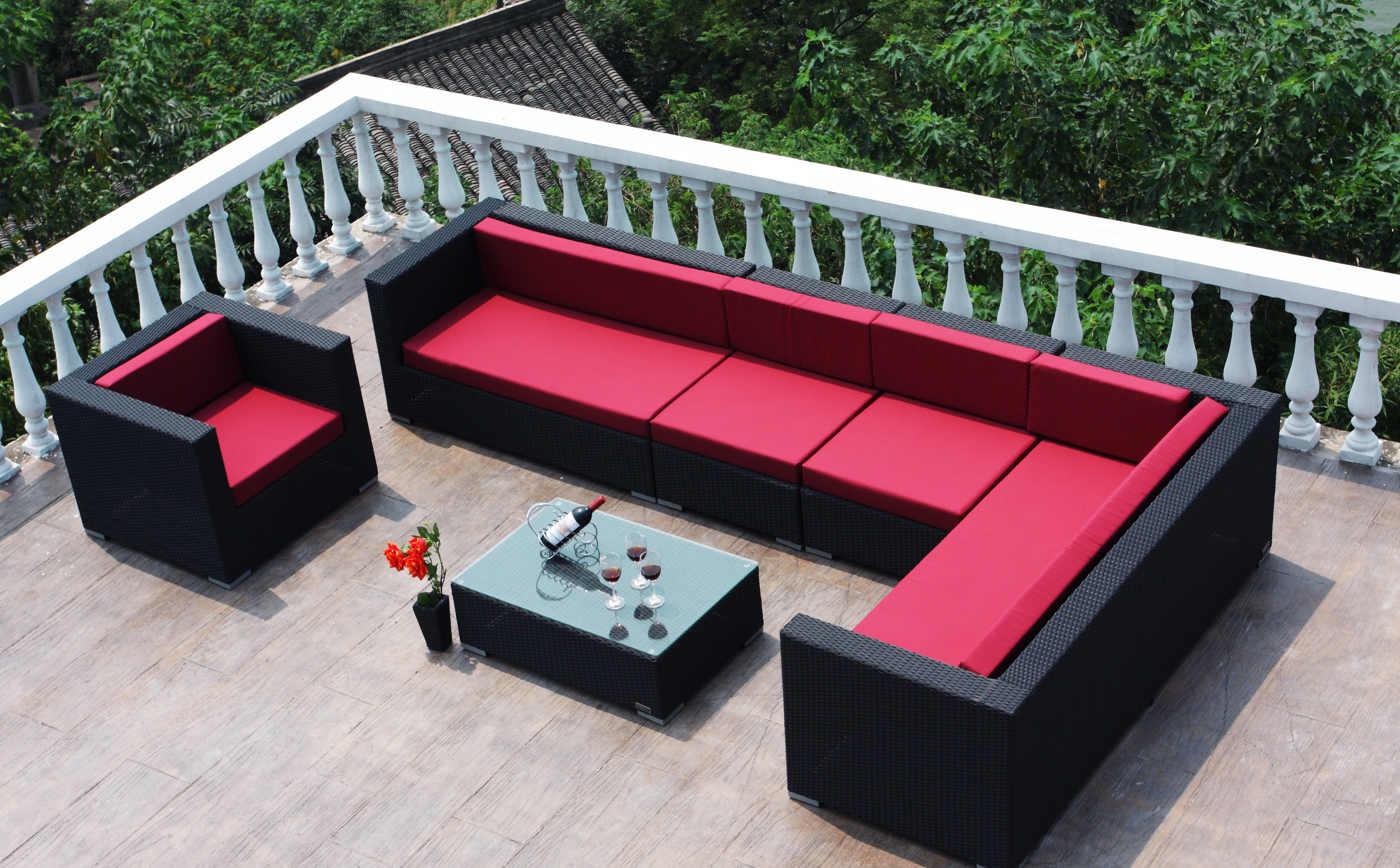 Polyrattan lounges gartenmoebel de for Gartenmobel polyrattan lounge