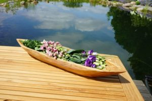Deko-Schale aus Holz