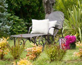 Gartenliegen: wie man sich bettet, so liegt man